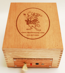 CigarBox/Audio Player/Cherry Finish
