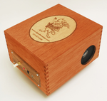 CigarBox/Audio Player/Cherry Finish/Logo has Lemon Finish